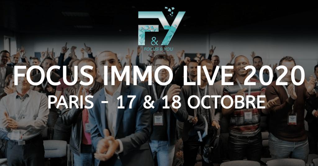 Focus immo live 2020 - La formations sur l'investissement immobilier